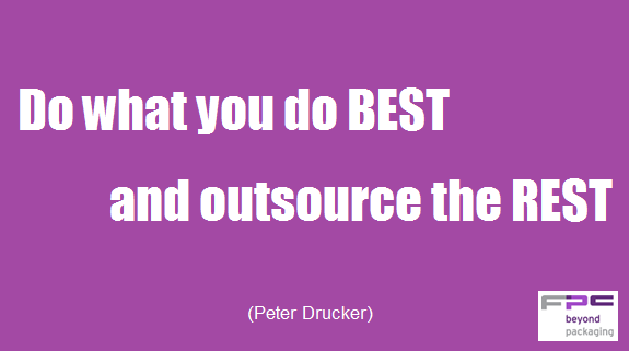 Do what you do best and outsource the rest