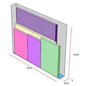 Palletizing window frames